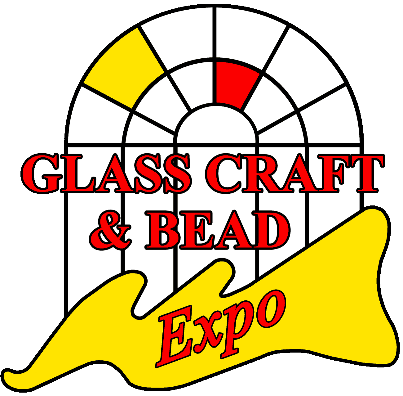 Glass Craft and Bead Expo Logo